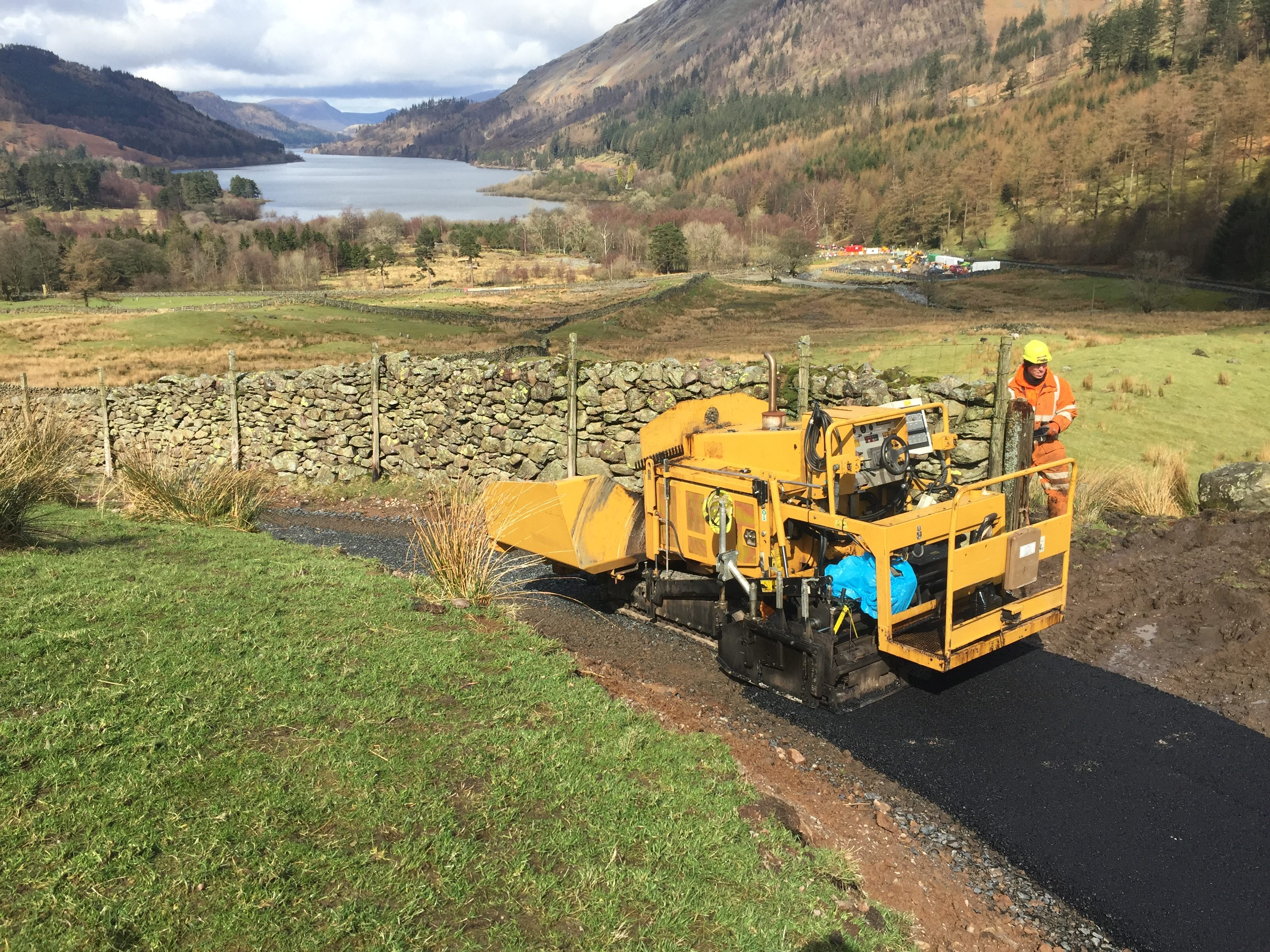 Surfacing-Cycle-track-Thirlmere